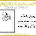 Défi#33 du 8 juin 2020