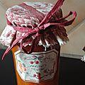 confiture abricots-menthe