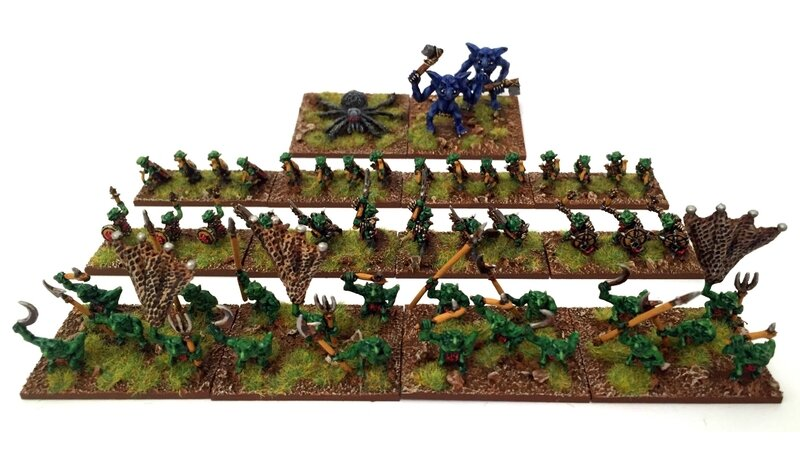 Armée Gobelin 15mm pour Hordes Of The Things