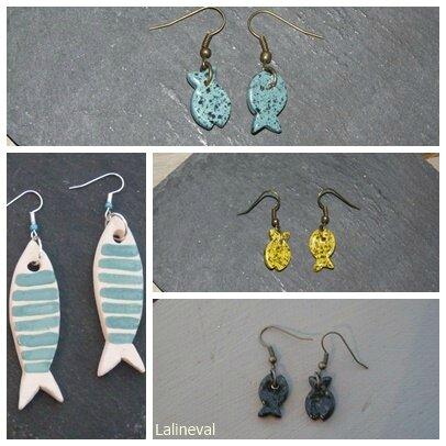 poissons céramique