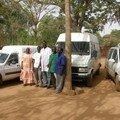 40 - Les véhicules livrés à l'association Adamh Tenkodogo