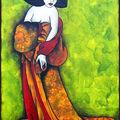 Passion peinture... une de mes découvertes... les callipyges de tatieva...