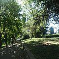 Les allées parc montcalm