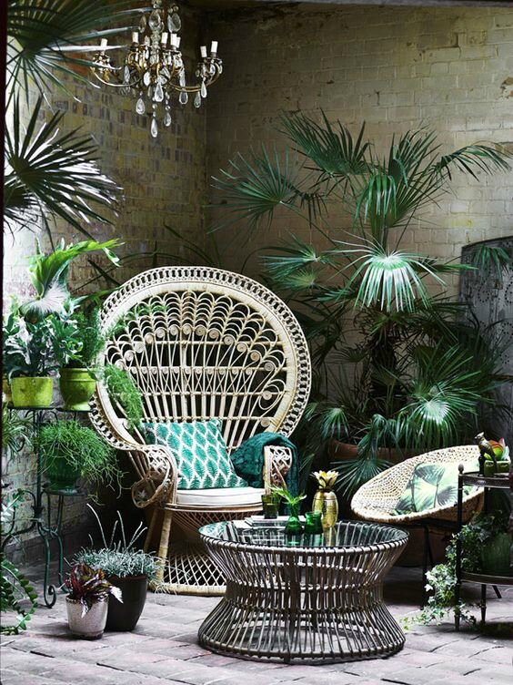 Déco urban jungle (pinterest)