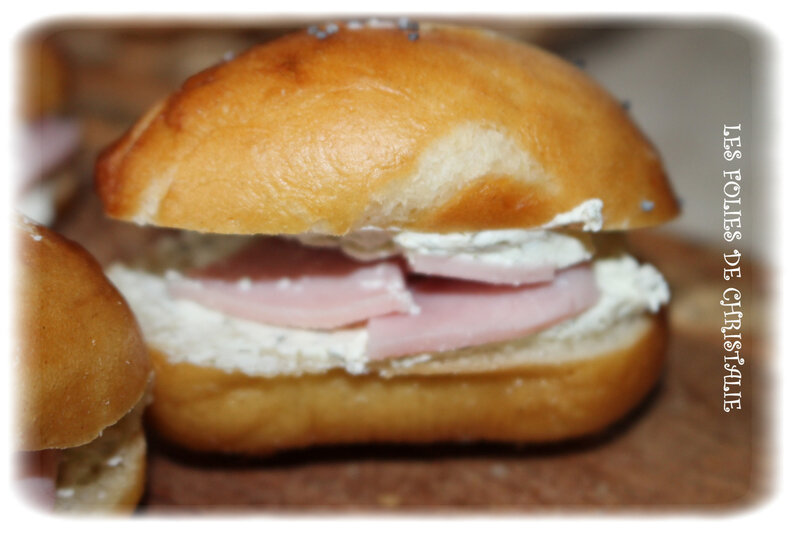 Mauricettes jambon fromage 2