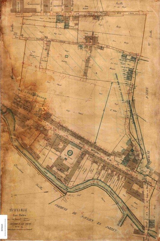 cadastre vers 1880