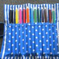 trousse pour Maxence 6 ans - crayons de couleur+ mine