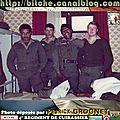 Bitche 1982 ; la page du cuirassier patrick grognet : 1982/83.