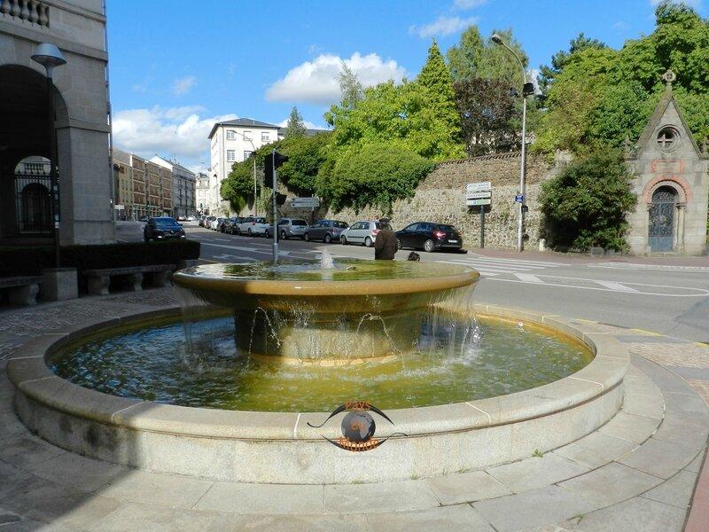 Fontaine hôtel de région