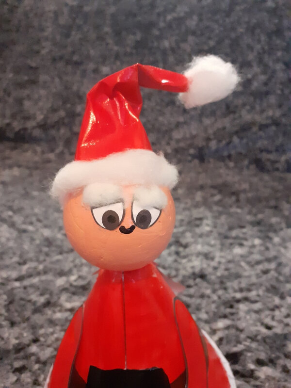 363- Noël et Nouvel an-Père-noël surprise (98)