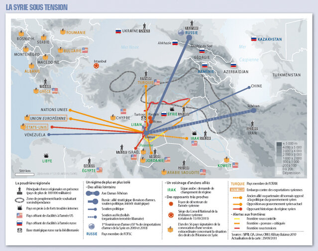 Photo-carte-conflit-syrie-internationale