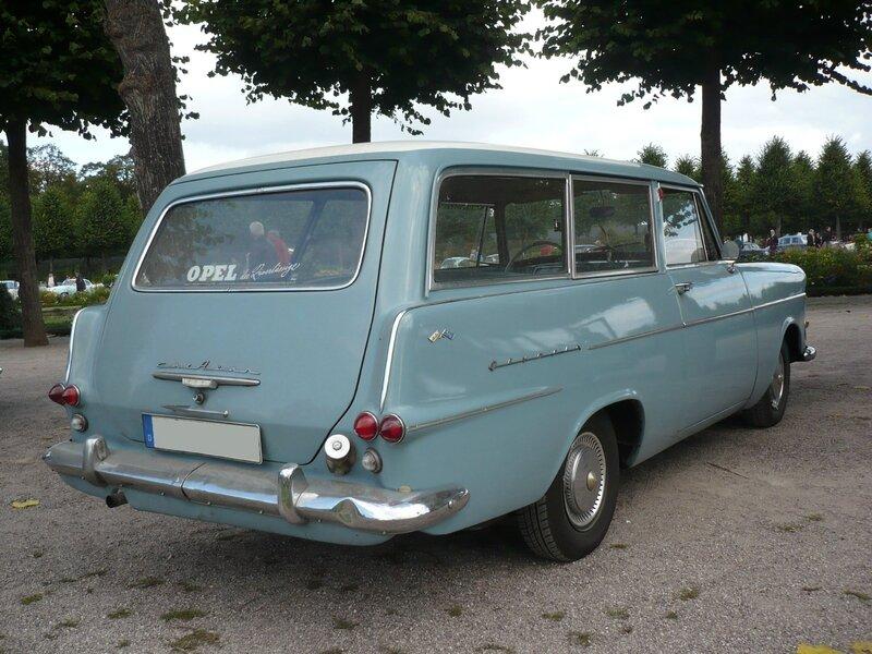 OPEL Rekord P2 Caravan 1962 Schwetzingen (2)