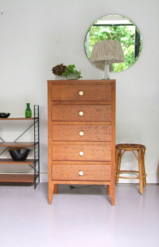commode chiffonnier vintage
