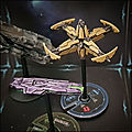 Fleet commander - stations de bataille