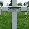 Fauveau maurice (ségry) + 18/10/1918 epernay (51)