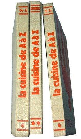 Lot De 3 Livres Cuisine De A A Z La Table De Janinette