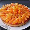 Tarte abricot