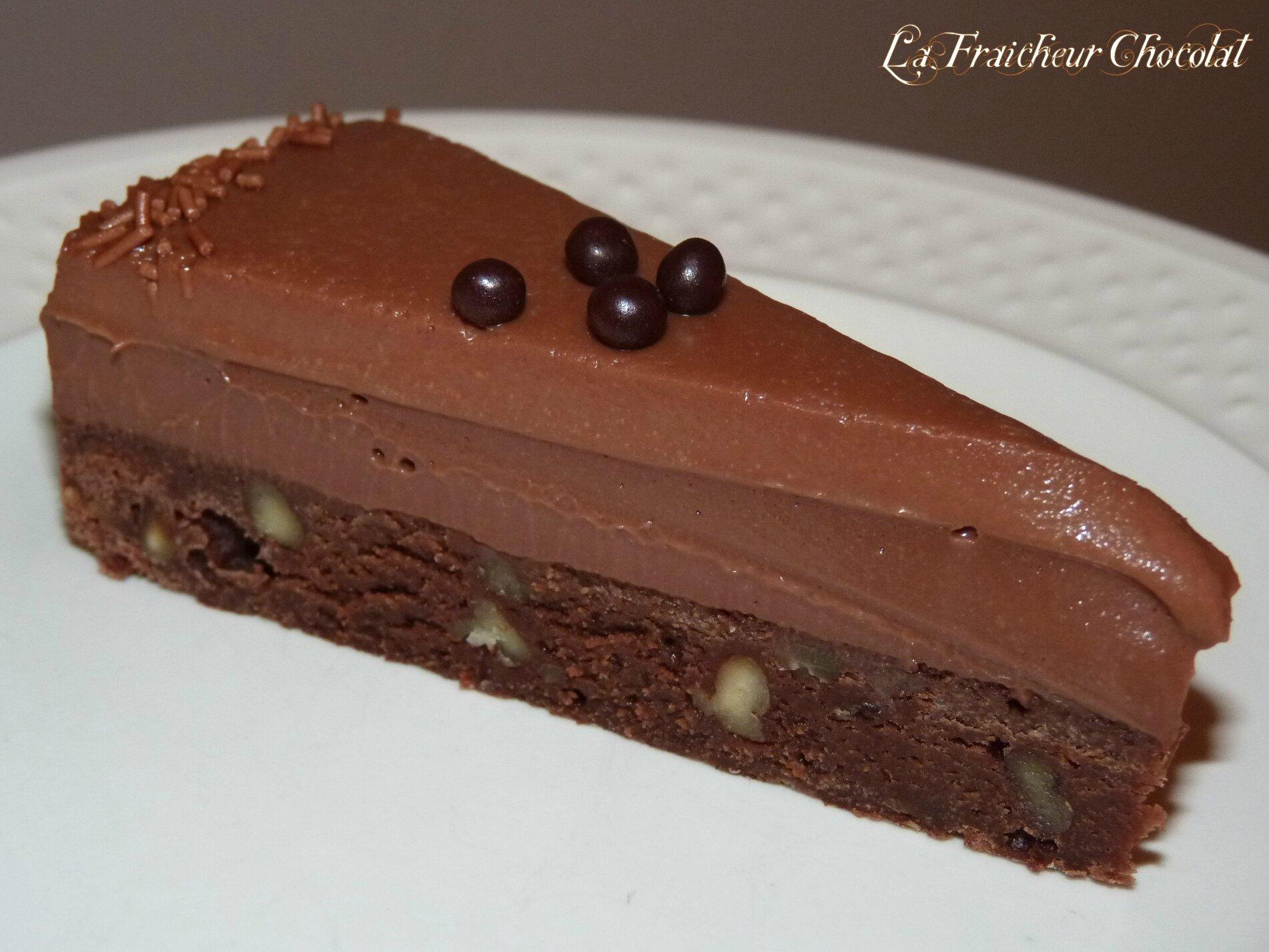 Dessert Au Chocolat Noir - Le Chocolat