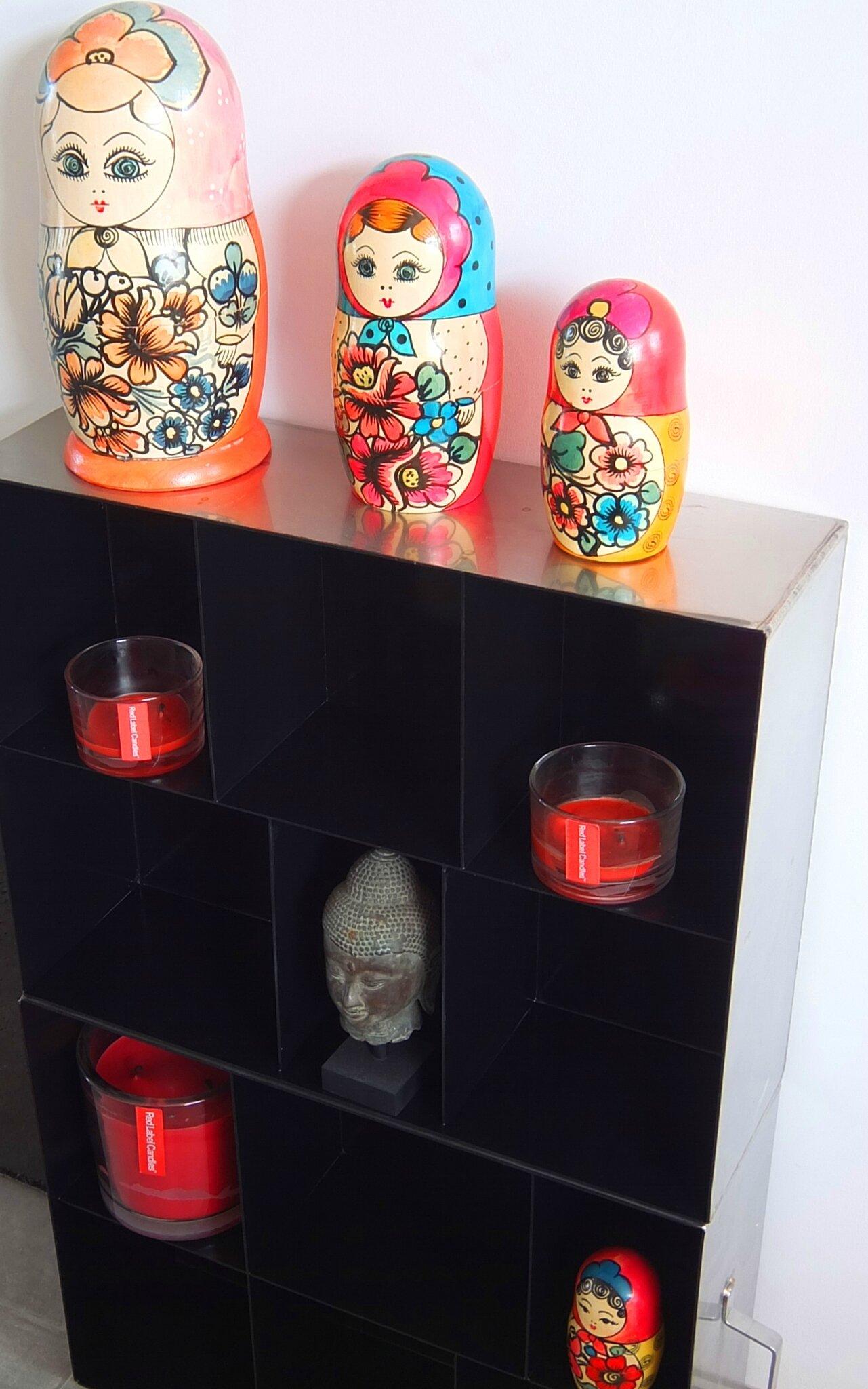 Transformer des tiroirs inox en étagère indus