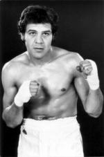 Vincent Parra au temps de sa carrière de boxeur
