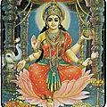 Carte porte-bonheur de lakshmi du grand maitre marabout