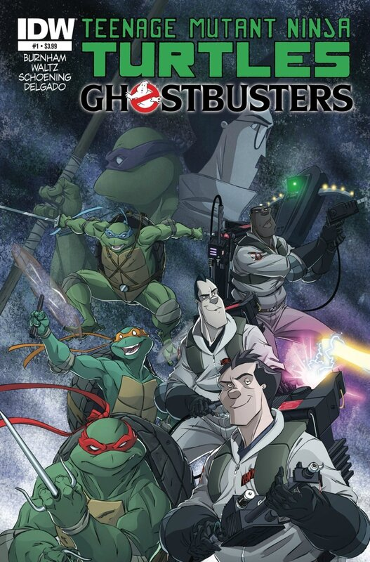 IDW TMNT ghostbusters 01