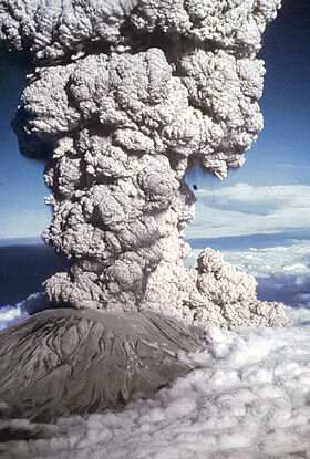 Eruption du Mont Saint Helens 1980