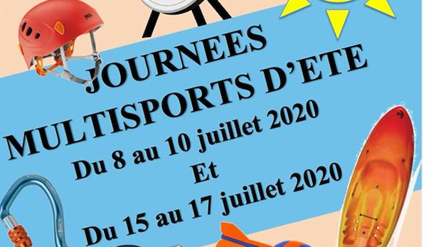 Journées multisports d'été 2020