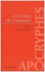 Odes de Salomon, Marie Joseph Pierre