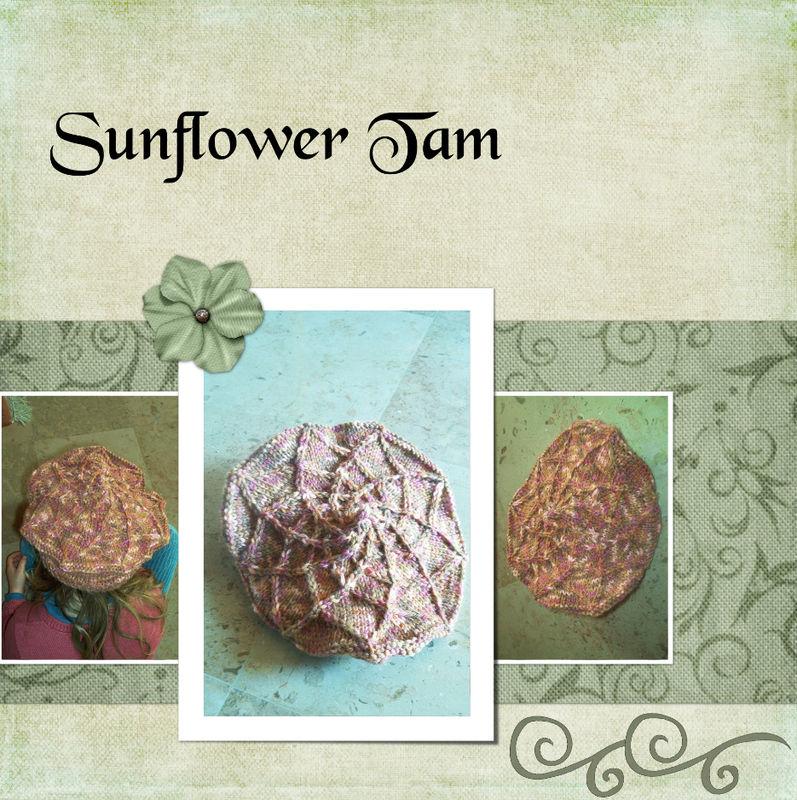Sun Flower Tam