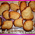 Tuiles aux amandes bien arrondies