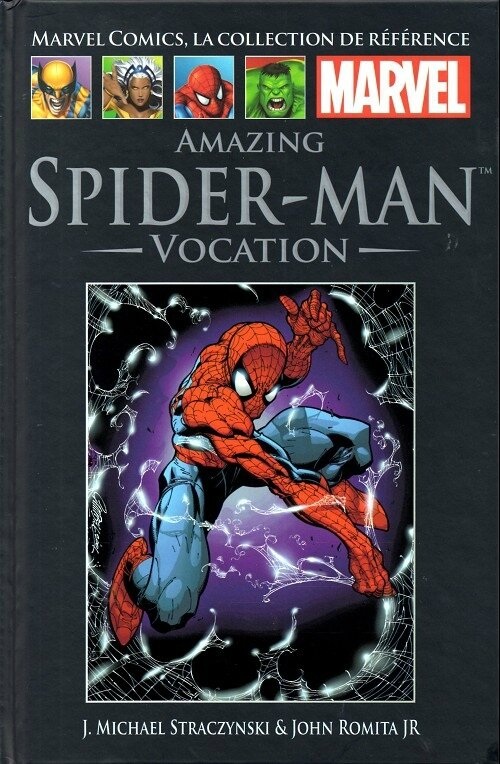 hachette 024 amazing spiderman vocation