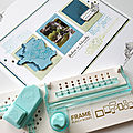 La punchboard pour cadres (puncboard frame) pour variations créatives