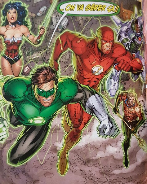 justice league 01 aux origines e