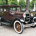 FORD Model A 4door Town Sedan 1929 Schwetzingen (1)