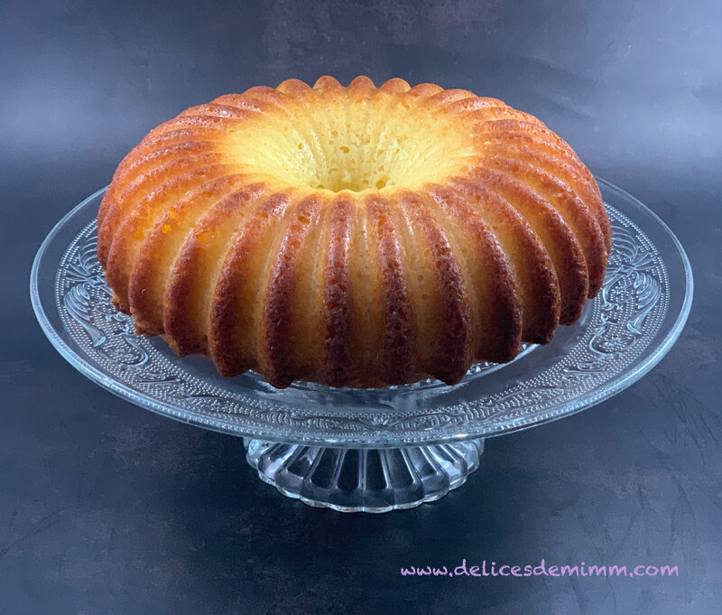 Cake au citron de Pierre Hermé version 2
