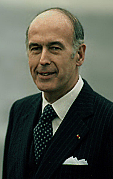 1974-Valery Giscard d'Estaing