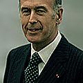 1974 - giscard d'estaing est elu president avec 50,8 %