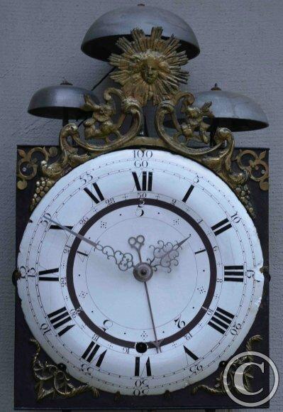 comtoise cadran décimal musee horlogerie Duesseldorf