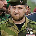 Ramzan kadyrov répond aux menaces de