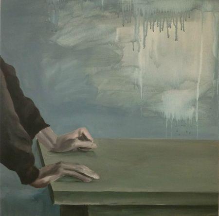 Le plan, acrylique sur toile, 70x70, 2013