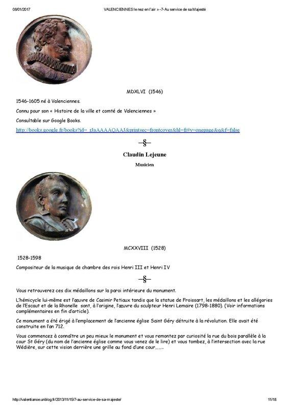 VALENCIENNES le nez en l air » -7-Au service de sa Majesté-page-011