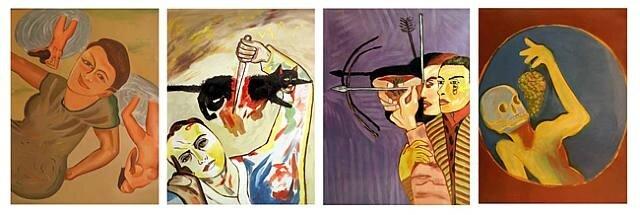 francesco Clemente untitled 1984