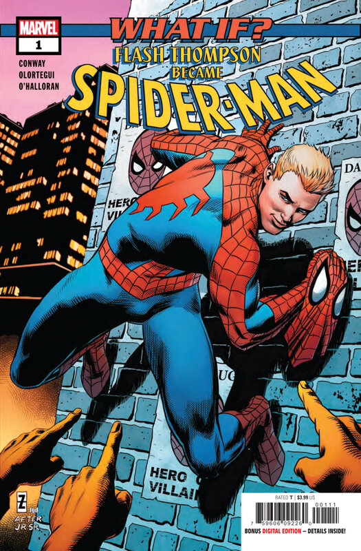 what if flash thompson became spiderman