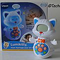 Test du réveil lumikitty de vtech