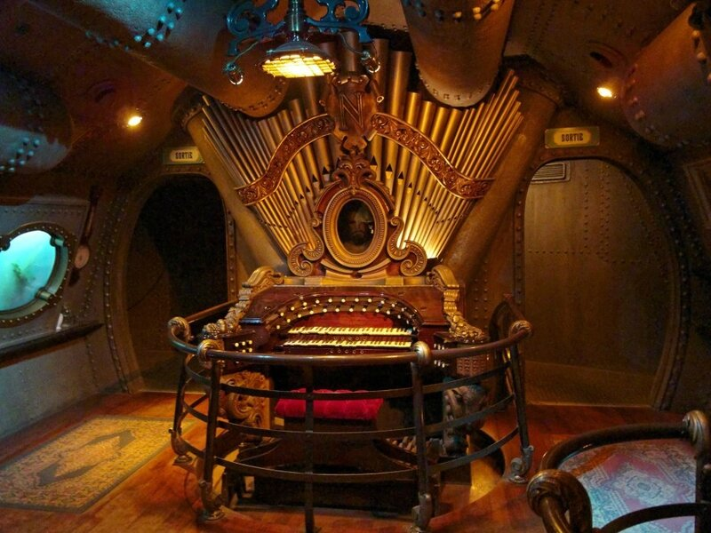 Chessy orgue nautilus parc disneyland