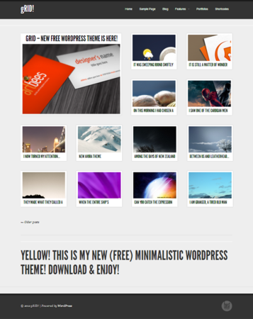 grid-free-wordpress-theme
