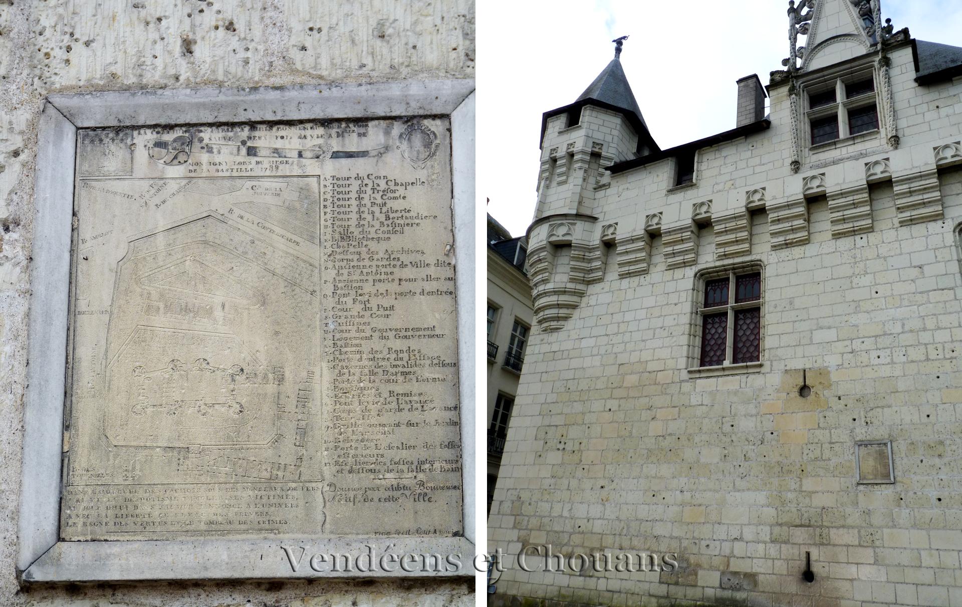 Saumur - Pierre de la Bastille