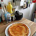 Gâteau crémeux ananas et noix de coco