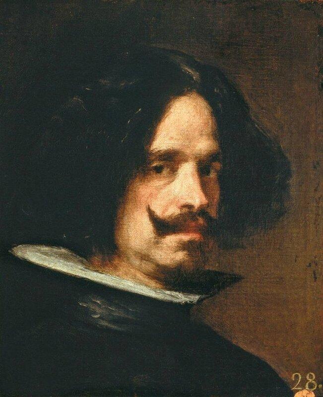 Diego Velazquez, Autoportrait, vers 1650, 45 x 38 cm, huile sur toile, Museo de Bellas Artes, Valence, © Museo de Bellas Artes, Valence